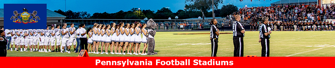 Pennsylvania Football Stadium Database