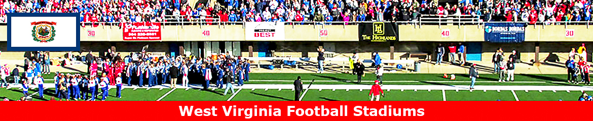 West Virginia  Football Stadium Database