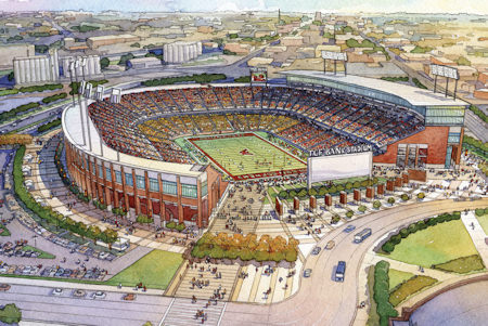 TCF Bank Stadium picture