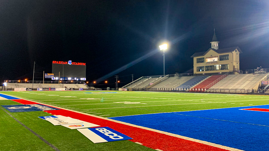 Bixby School Football Stadium